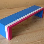 Překážka - lavice