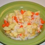 Salát s jasmínovou rýží