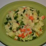 Zeleninový salát s bramborama