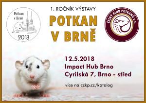 Potkan v Brně - plakát